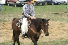 Training my off-the-track racehorse to compete at mounted shooting