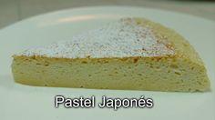 """""""PASTEL JAPONÉS. Un postre fabuloso que se hace con sólo 3 ingredientes. No te pierdas esta receta te va a encantar!!  :)"""