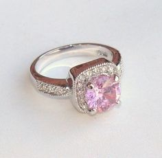 Premier Designs Pink Ice Ring