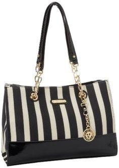 Ann Klein Black and white tote bag  purses 