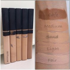 maybelline fit me concealer swatches - Google Search