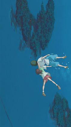 64 Super Ideas for wallpaper iphone anime studio ghibli hayao miyazaki Hayao Miyazaki, Studio Ghibli Art, Studio Ghibli Movies, Spirited Away Wallpaper, Manga, Chihiro Y Haku, Studio Ghibli Spirited Away, Film D'animation, Film Studio