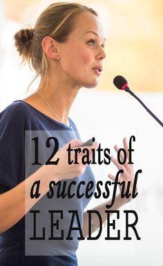 12 characteristics of a successful leader | Financegirl
