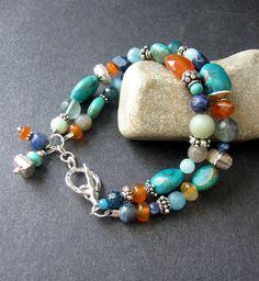 MultiStone Beaded Bracelet