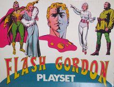 Flash Gordon Playset Mego