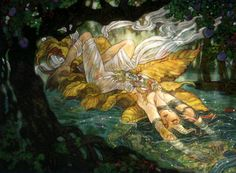 The Golden Rose by Rebecca Guay