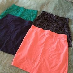 Pencil skirts Only worn each of them about 3 times total H&M Skirts Skirt Sets