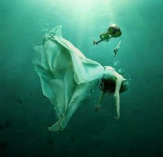 Your Heart is the size of an Ocean.  Go find yourself in its hidden depths.    Rumi