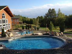 Outdoor baths / Les bains extérieurs