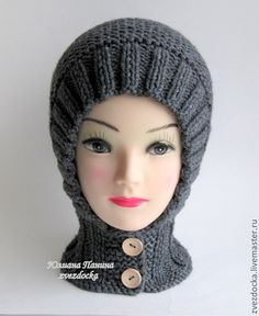 "Одежда унисекс ручной работы. Ярмарка Мастеров - ручная работа шапка - шлем ""Style"". Handmade."