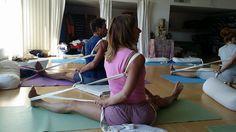 Yoga using props #iyengar