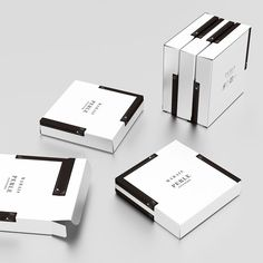 Gorgeous packaging for Marais Piano cakes - Designer Daily: graphic and web design blog