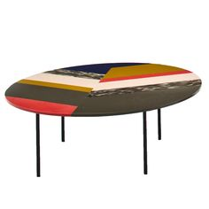Table basse ronde M.A.S.S.A.S/FISHBONE - MOROSO