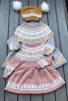 August 21, Wool, Knitting, Kids, Clothes, Tejidos, Threading, Young Children, Outfits