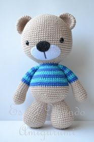 Amigurumi Teddy Bear - FREE Crochet Pattern / Tutorial (Spanish)