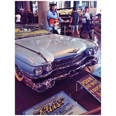 Oh, #MammaBaby, check out #Elvis's #CoolCar on Display in #Hollywood:) Definitely a #Ride made for a #King!:)    #Rock On!:)   Pic: #JamminJo 2016   #LosAngeles #LaLaLand #CA