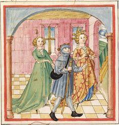 Pontus und Sidonia — Stuttgart (?) - Werkstatt Ludwig Henfflin,  um 1475  Cod. Pal. germ. 142  Folio 92v