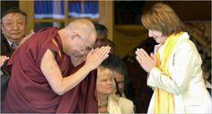 """Dalai Lama to Pelosi: """"Nancy, We Must Rid You of Your Negative Energy."""""""