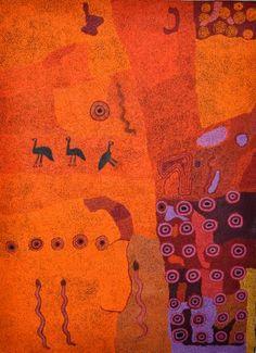 Ginger Wikilyiri, Manta, Tali munu Tjanpiku Ngura  Acrylic on linen  1500 x 2000mm