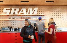 perkins will sram office bicycle component manufacturer chicago designboom