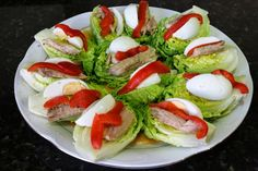Nut Recipes, Vegetarian Recipes, Cooking Recipes, Fresh Vegetables, Veggies, Salade Healthy, Appetizer Recipes, Appetizers, Spanish Kitchen