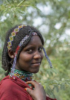 Afar Tribe Woman, Assaita, Afar Regional State, Ethiopia | by Eric Lafforgue