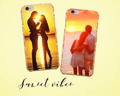 Get inspired by the sunset and create a romantic cork case for your phone! :3