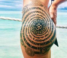 Mandala tattoo by Coen Mitchell