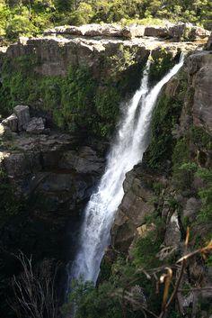 Waterfalls in Murramarang national park in NSW Australia.