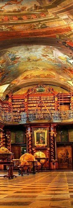 Clementium Library in Prague | Czech Republic