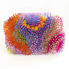Bespoke, sorbet-hued Ken Samudio clutch