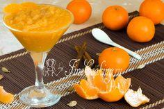 Смузи из тыквы и мандарина - рецепт с фото