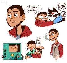 The adorable doodles of Lui Calibre