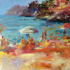 Image: Peter Graham - Monaco Coast, 2000 (oil on canvas)