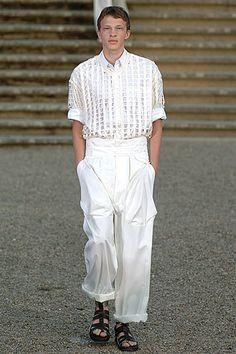 Raf Simons Spring 2006 Menswear Fashion Show