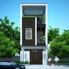 """Với phương châm """"Làm rộng nhà hẹp, làm đẹp nội thất, làm bạn tự hào với không gian của mình"""", dịch vụ thiết kế nhà phố của Nhadep365 luôn xuất phát từ việc giải quyết những bài toán trên bằng các giải pháp kiến trúc hợp lý."""
