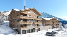 Close to the ski lifts and all amenities, Chalets du Golf boasts an amazing location. The apartments all have amazing views of the Alpe d'Huez resort and have access to heated ski lockers and covered private parking. Alpe D Huez, Ski Lift, French Alps, South Of France, Investment Property, The Prestige, Mauritius, Mount Everest, Skiing