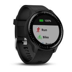 Garmin vívoactive 3 Music GPS Smartwatch - Famous Last Words Smartwatch, Sport Watches, Cool Watches, Watches For Men, Popular Watches, Casual Watches, Taxi Uber, Bike Pooling, Cardio