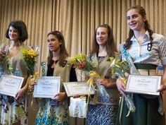 4 Girl Scouts earn Silver Award.
