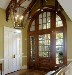 DON'T USE - POOR RESOLUTION Friday Trends Sliding Doors Arched Wooden Entry Doors