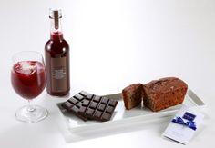 Chocolate y vino ....