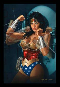 Wonder Woman by Gennadiy Koufay.