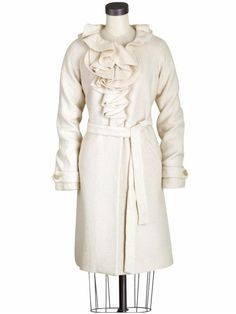 Beautiful Rebecca Taylor Coat - My friend Dawn Fischer screamed when she saw this beauty in my closet - it really is divine!