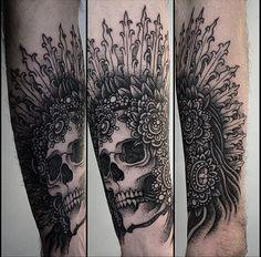 Alexander Grim, tattoo artist