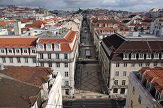 Sem Título (Temporariamente): Arco da Rua Augusta e Praça do Comércio em Lisboa