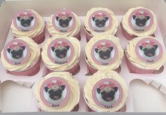 Can be made in any colour or design. The Cake Lab Bakery, Ranelagh, Dublin, Ireland. Pug Birthday Cake, Cool Birthday Cakes, Birthday Celebration, Beautiful Cakes, Amazing Cakes, Pug Cupcakes, Different Types Of Cakes, Cake Competition, Dogs