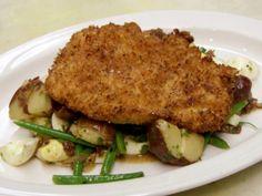 Honey Dijon Chicken, Warm Potato Salad from FoodNetwork.com