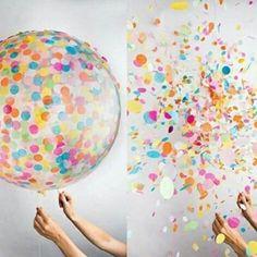 #НаправиСам - Балон со конфети #забава