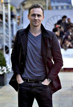 Tom Hiddleston is seen arriving at the Maria Cristina Hotel during the 63rd San Sebastian International Film Festival on September 21, 2015 in San Sebastian, Spain