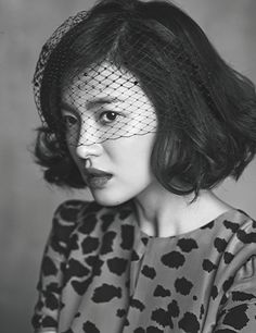 Additional Spreads Of A Burberry Clad Song Hye Kyo In Harper's Bazaar Korea's October 2013 Issue | Couch Kimchi